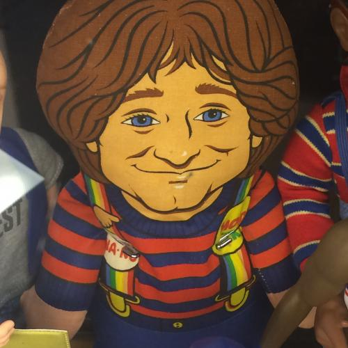 Mork doll from Mork & Mindy show at Collectors' Corner Museum