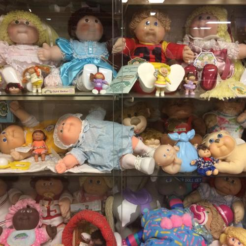 Cabbage Patch dolls at Collectors' Corner Museum