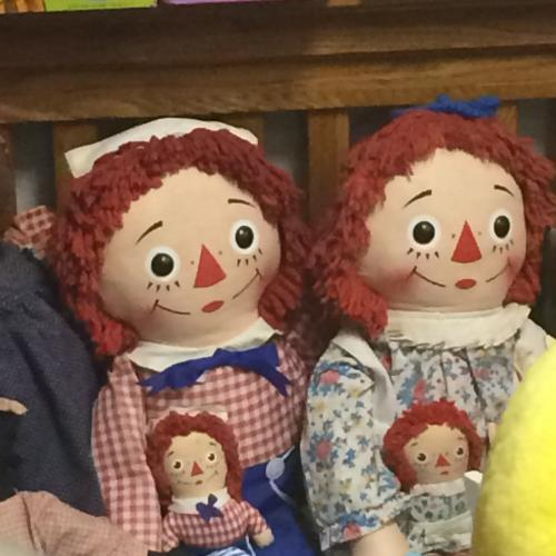 Raggedy Ann & Andy at Collectors' Corner Museum