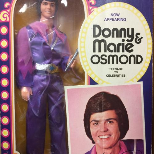 Donny Osmond doll at Collectors' Corner Museum