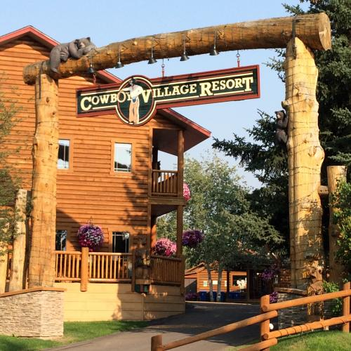 Cowboy Village entrance way