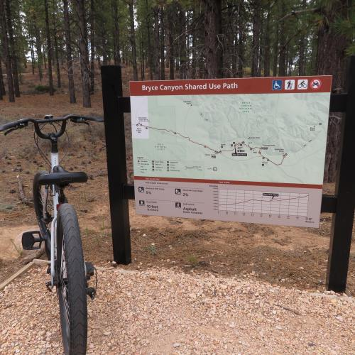 Multi-Use Bike Trail via Dixie National Park