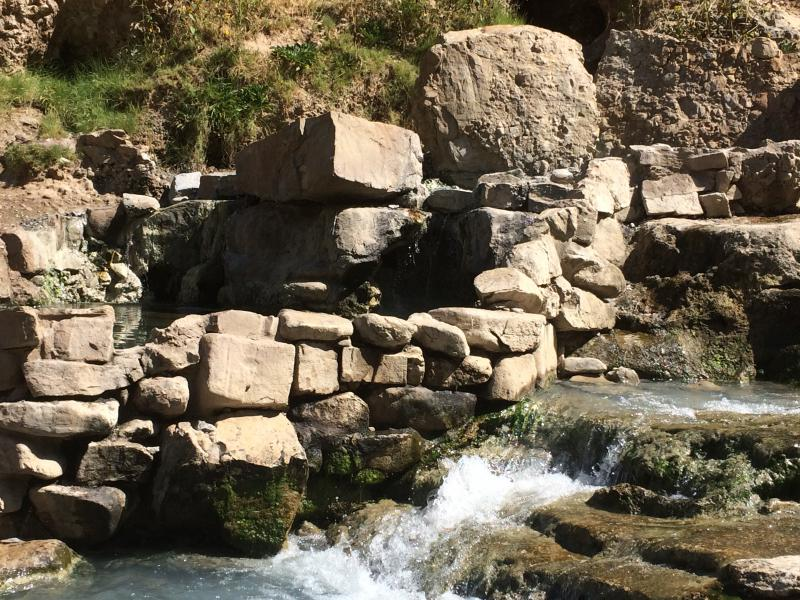 Fifth Water Hot Springs - Springville, Utah | On Our Days Off